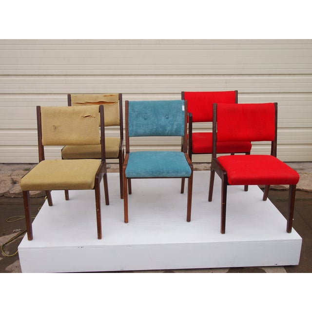 Risom American Modern Dining Chairs - Set of 8 - Image 2 of 4