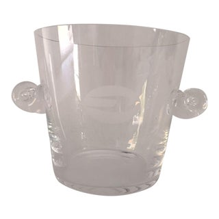 Tiffany & Co. Glass Champagne Ice Bucket