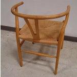Image of Hansen-Style Danish Rush Chairs - A Pair