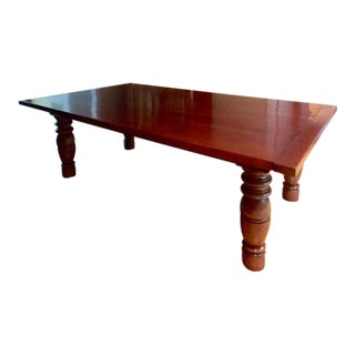 Solid Walnut Elijah Slocum Dining Room Table