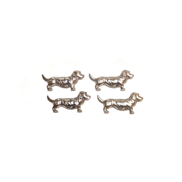 Bassett Hound Knife Rests, France, Set of 4 - Image 2 of 10