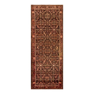 "Apadana - Vintage Persian Hamadan Rug, 3'11"" x 11'5"""
