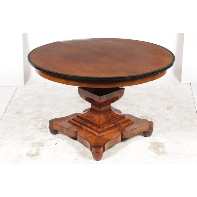 19th-C. English Empire-Sty Center Table - Image 3 of 10
