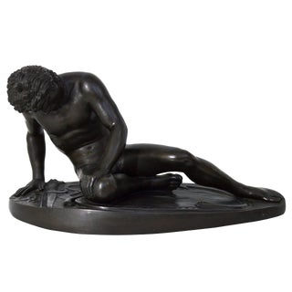 "Bronze Sculpture ""The Dying Gaul"": Signed M Amadoi N (Napoli) 19th Century"