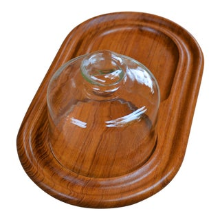 Kalmar Teak Cheese Serving Board