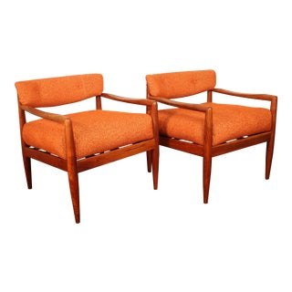 Adrian Pearsall for Craft Associates #834-C Lounge Chairs - Pair