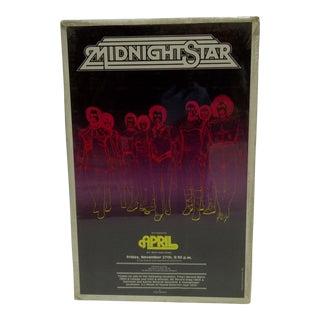 1981 Midnight Star Concert Poster