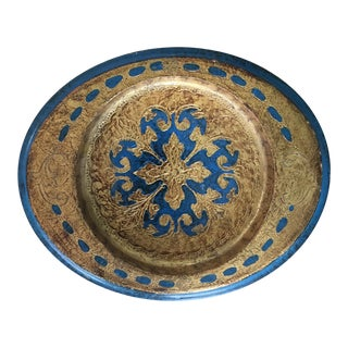 Made in Italy Florentine Small Tray Wooden Dish