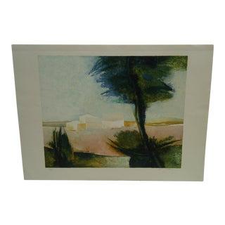 """Claude Gaveau """"Lavender"""" Limited Edition Print"""