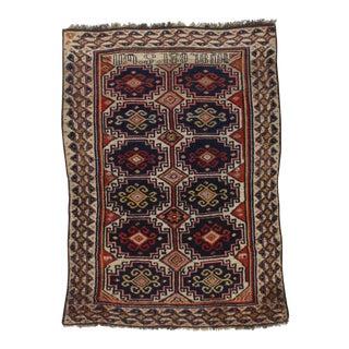"Pasargad NY Antique Armenian Lamb Wool Rug - 3'10"" x 5'5"""