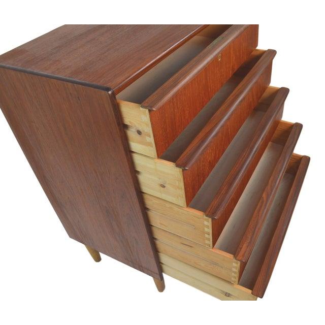 Danish Modern Teak Dresser - Image 4 of 7