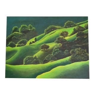 Original Acrylic Painting - California Hills