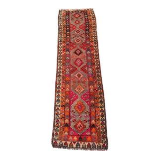Vintage Turkish Wool Rug - 2′2″ × 10′10″