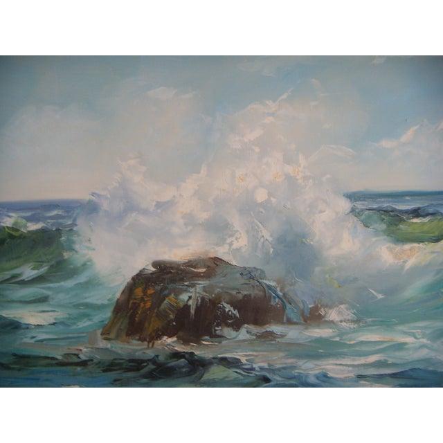 Pacific Ocean Breakers Oil Painting - Image 4 of 6