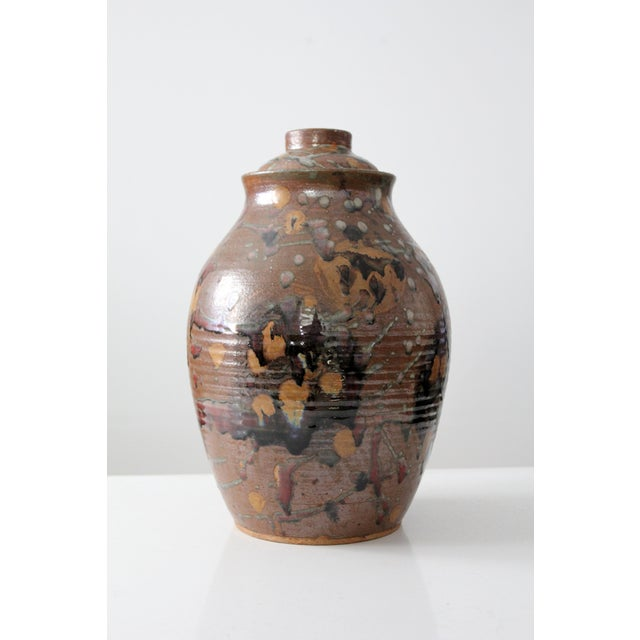 Image of Mid-Century Studio Pottery Vessel