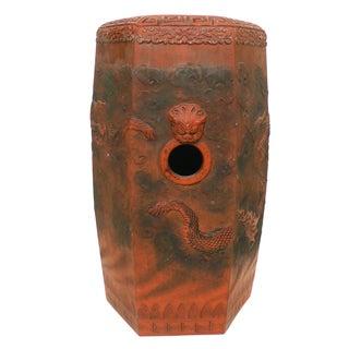 Terracotta Chinese Garden Seat