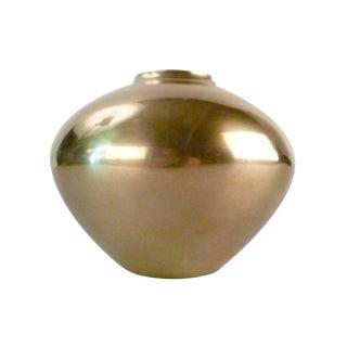 Mid-Century Modern Brass Vase