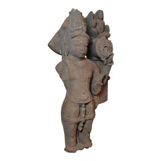 An Indian Sandstone Carving of Vishnu, Madhaya Pradesh, 10th-11th century