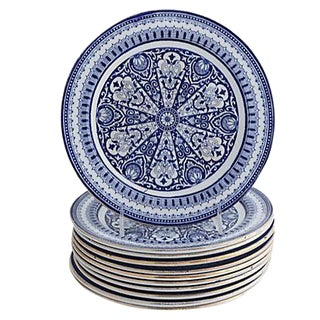 Aesthetic Movement Salad Plates - Set of 11