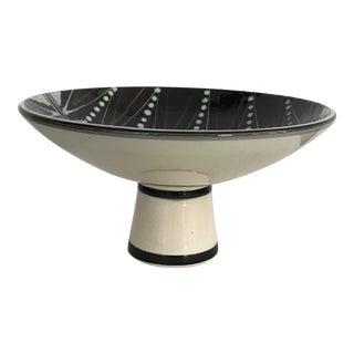 C.1940-50 Hak Mid-Century Modern Scandinavian Pedestal Dish