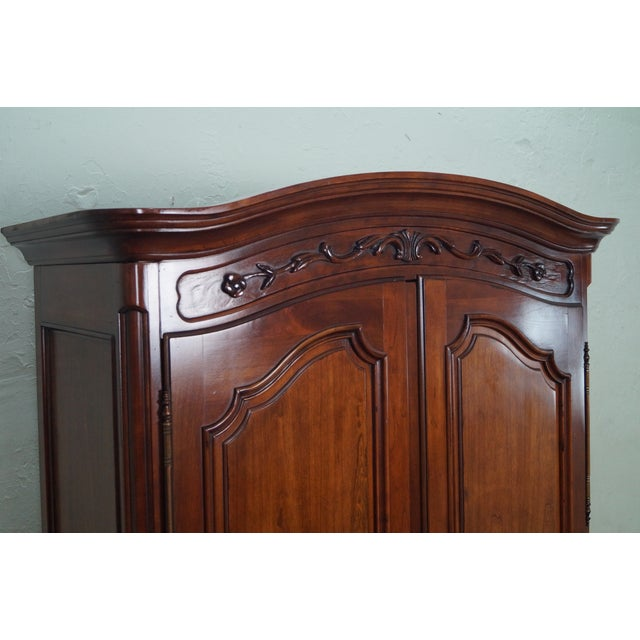 Image of French Louis XV Style Fruitwood Armoire