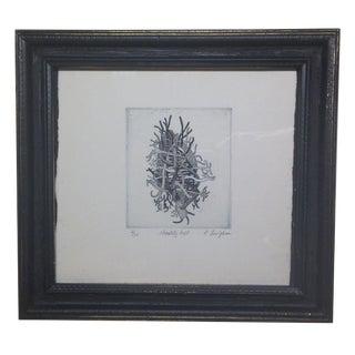 """""""Chastity Belt"""" by R. Lin Johnson Framed Art"""