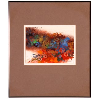 Color Explosion Collage Abstract Painting
