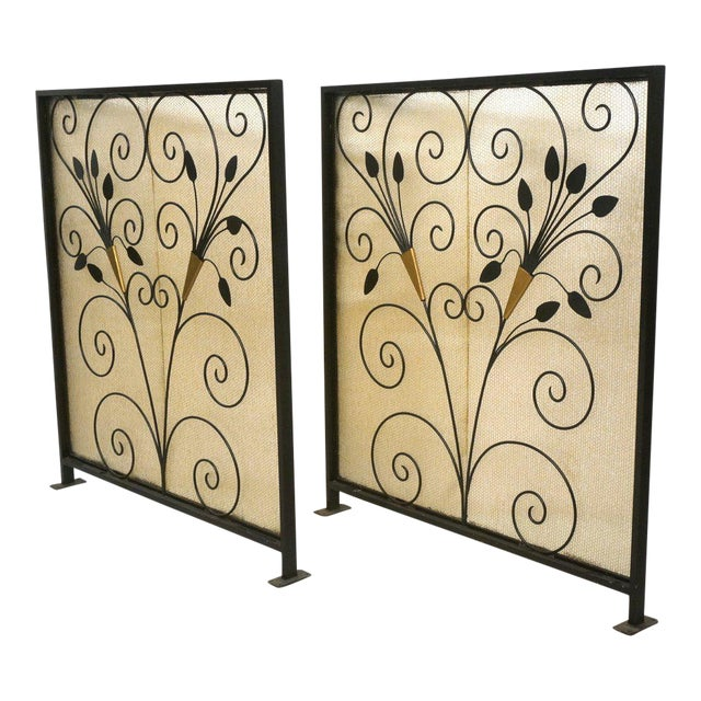 French Art Deco Room Dividers - A Pair - Image 1 of 6