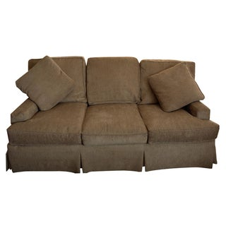 Tan Wesley Hall Couch