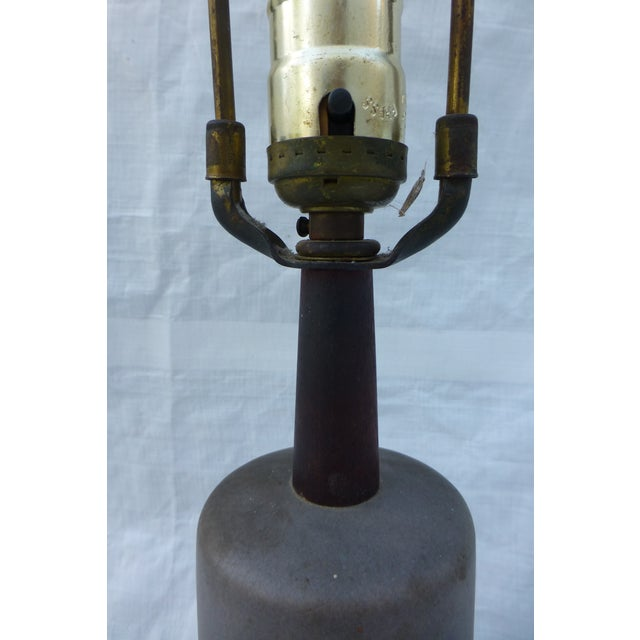Image of MCM Marshall Studios Martz Signed Table Lamp