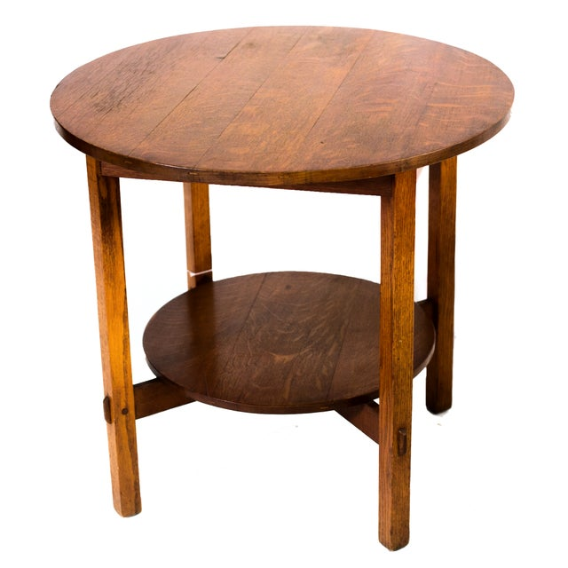 Stickley Brothers Tea Table - Image 1 of 3