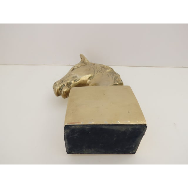 Brass Horse Bust - Image 5 of 6