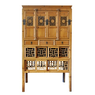 Rare 19th Century Chinese Kitchen Cupboard