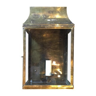 Traditonal Antiqued Brass Sconce