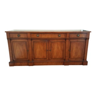 Antique Fruitwood Sideboard Cabinet