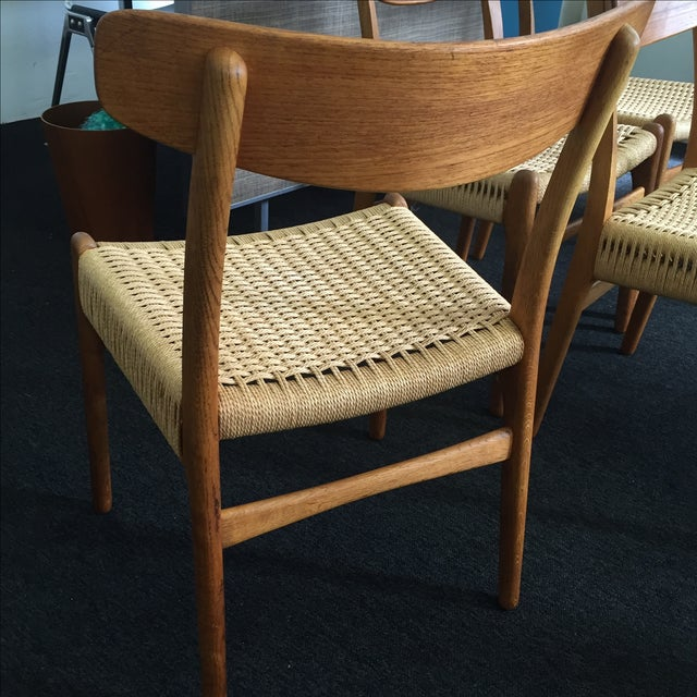 Hans Wegner CH-23 Dining Chairs - Set of 4 - Image 9 of 9