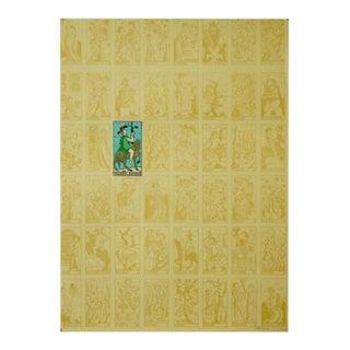 1986 Original Italian Tarot Poster