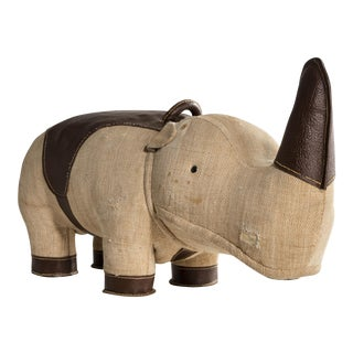 """Therapeutic Toy"" Rhinoceros by Renate Müller. 1969."