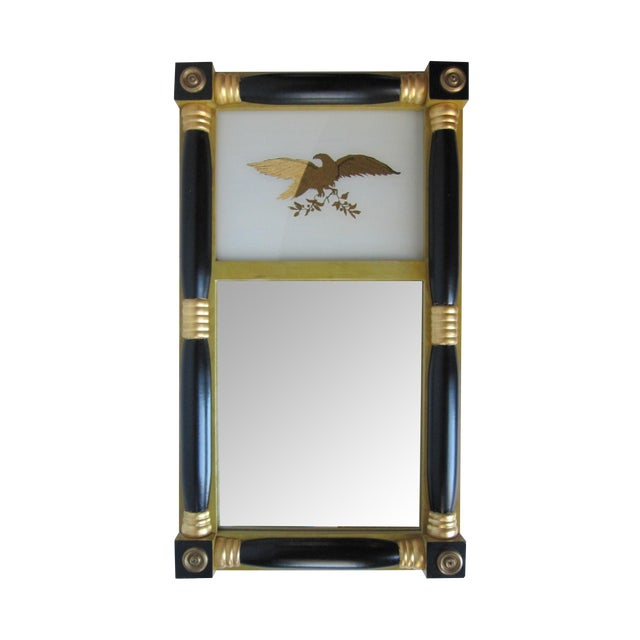 Federal-Style Eagle Crest Mirror - Image 1 of 6