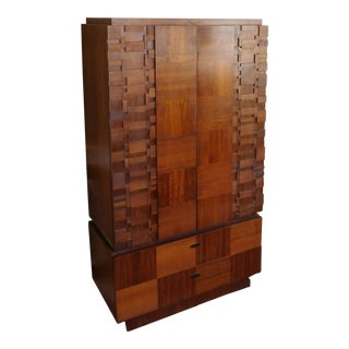 1970s Brutalist Armoire
