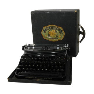 Stevens Hotel Underwood Noiseless Typewriter