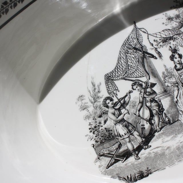 Vintage Toile Mottahedeh Tureen - Image 7 of 7