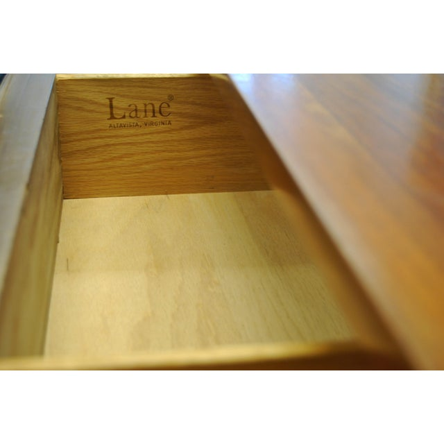 Image of Lane Rhythm Mid-Century Modern Tallboy Dresser