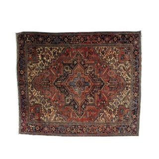 "Leon Banilivi Antique Heriz Carpet - 8'9"" x 10'4"""