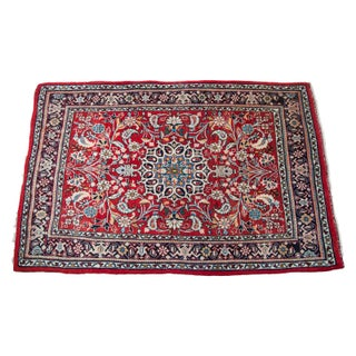 "Red Persian Rug - 2'10"" x 4'4"""