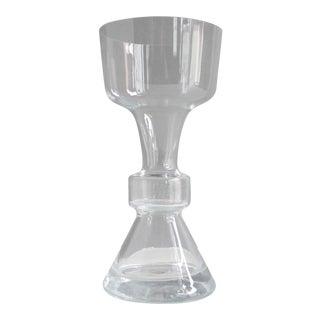 Vintage West German Mid Century Glass Vase