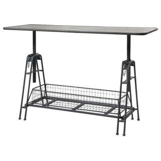 Iron Adjustable Metal Work Table