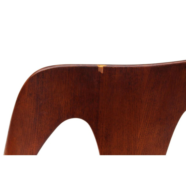 Mid Century Walnut Dining Chairs by Lawrence Peabody for Richard Nemschoff - Set of 6 - Image 2 of 6