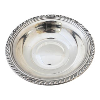 Fabulous Small Sterling Hallmarked Manchester Silver Co. Bowl