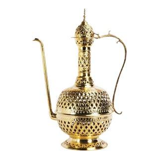 Handcrafted Brass Aladdin-Inspired Lamp Lantern